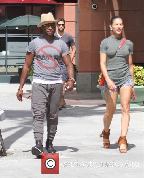 Taye Diggs and Amanza Smith Brown 6