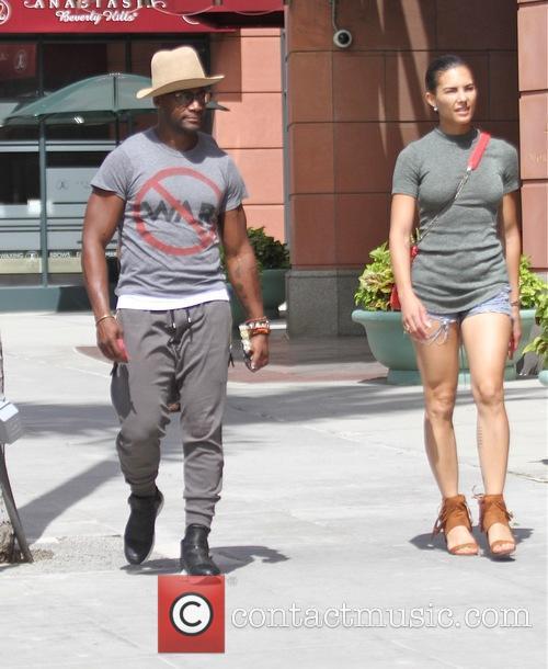 Taye Diggs and Amanza Smith Brown 7