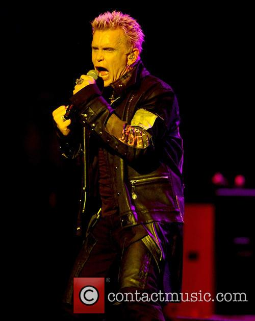 Billy Idol performs at Hard Rock Live