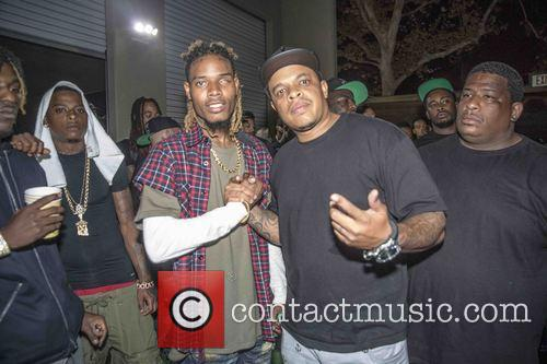 Fetty Wap & Curtis Young Backstage At The...