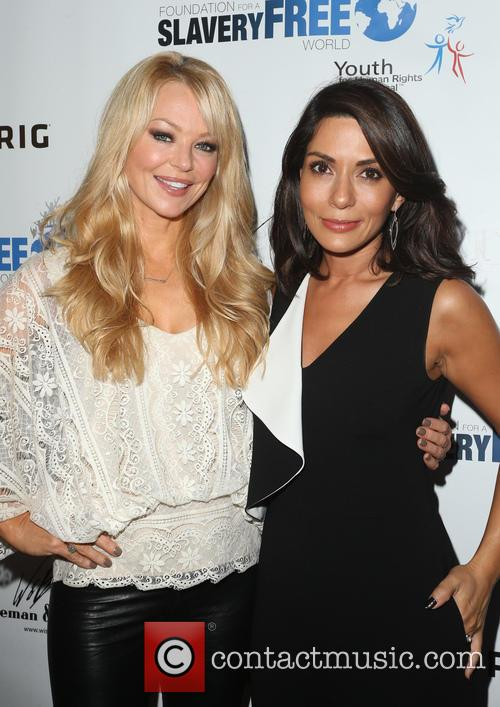 Charlotte Ross and Marisol Nichols 1