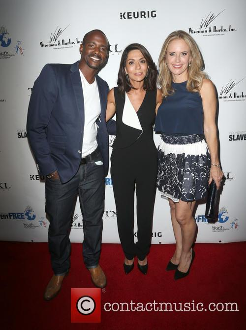Keith Robinson, Marisol Nichols and Kelly Preston 2
