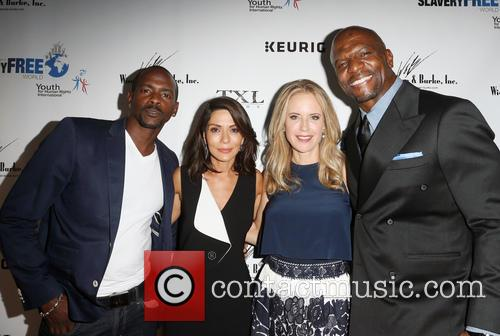 Keith Robinson, Marisol Nichols, Kelly Preston and Terry Crews 2