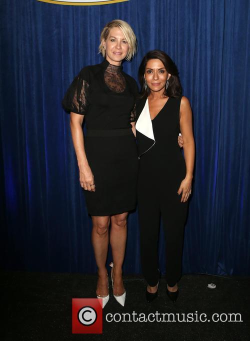 Jenna Elfman and Marisol Nichols 2
