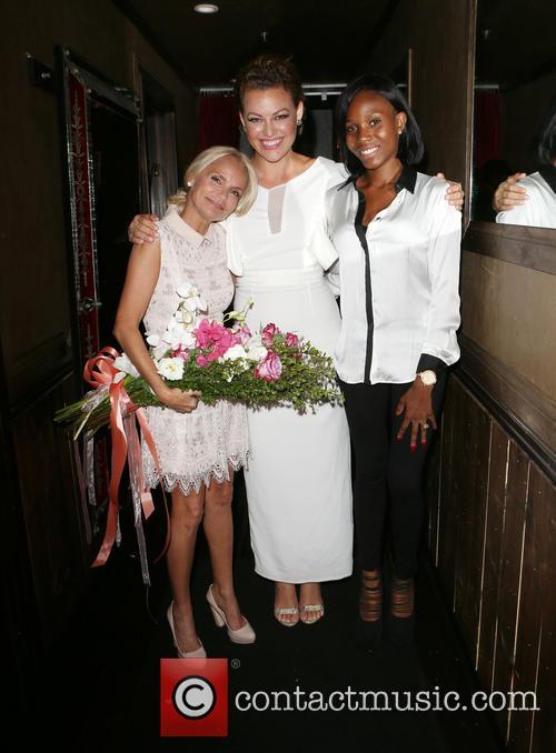Kristin Chenoweth, Kim Biddle and Guest 2