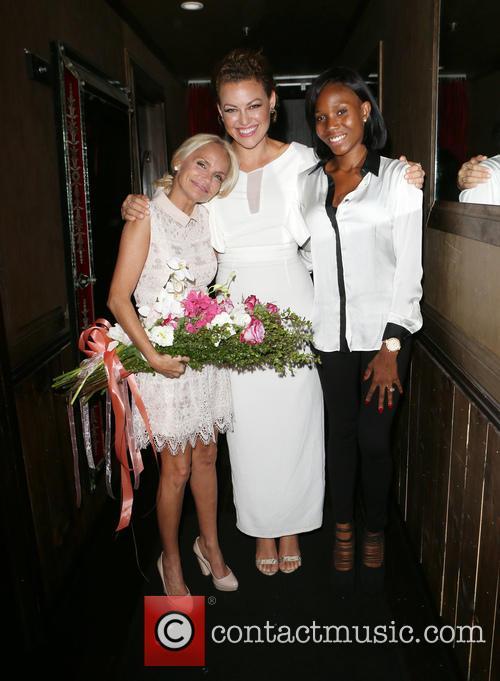 Kristin Chenoweth, Kim Biddle and Guest 3