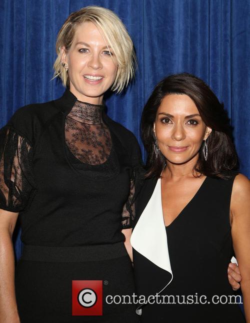 Jenna Elfman and Marisol Nichols 1
