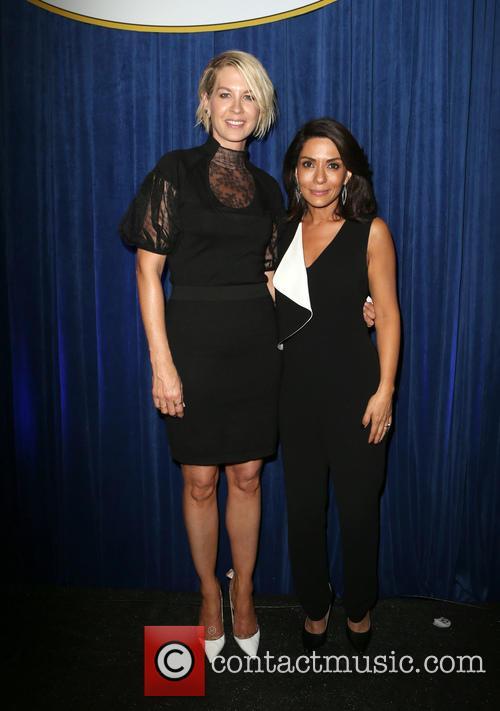 Jenna Elfman and Marisol Nichols 6