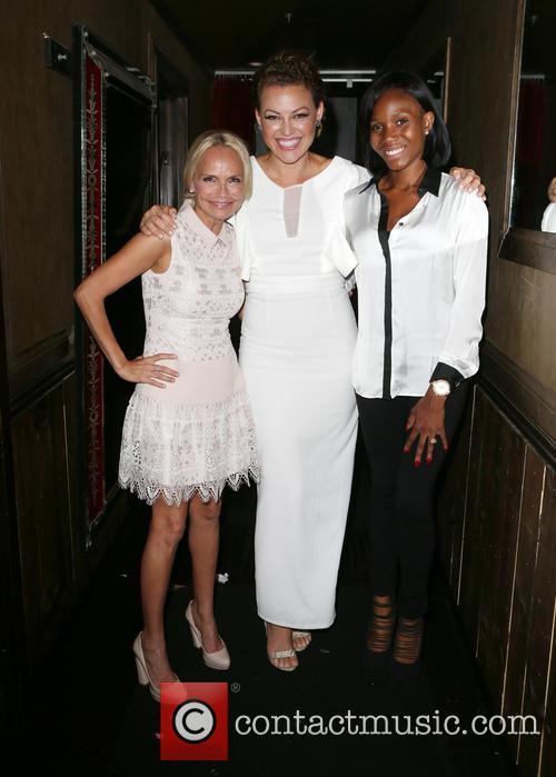 Kristin Chenoweth, Kim Biddle and Guest 6