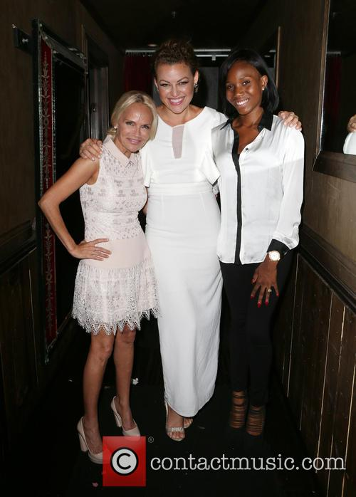 Kristin Chenoweth, Kim Biddle and Guest 1