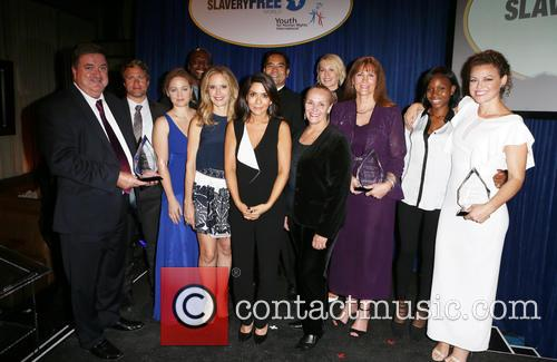 John Ryan, Tim Ballard, Erika Christensen, Terry Crews, Jordan Marinov, Sean Reyes, Marisol Nichols, Jenna Elfman, Nancy Rivard, Kim Biddle, Kelly Preston and Mary Shuttleworth 2