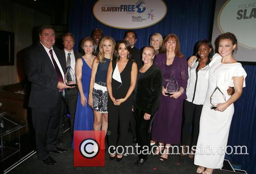 John Ryan, Tim Ballard, Erika Christensen, Terry Crews, Jordan Marinov, Sean Reyes, Marisol Nichols, Jenna Elfman, Nancy Rivard, Kim Biddle, Kelly Preston and Mary Shuttleworth 1