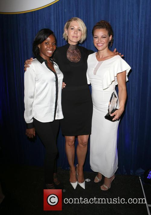 Jenna Elfman, Kim Biddle and Guest 2