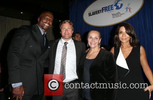 Terry Crews, Tim Ballard, Mary Shuttleworth and Marisol Nichols 3
