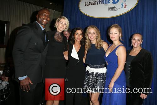 Terry Crews, Tim Ballard, Mary Shuttleworth, Marisol Nichols, Kelly Preston, Erika Christensen and Jenna Elfman 2