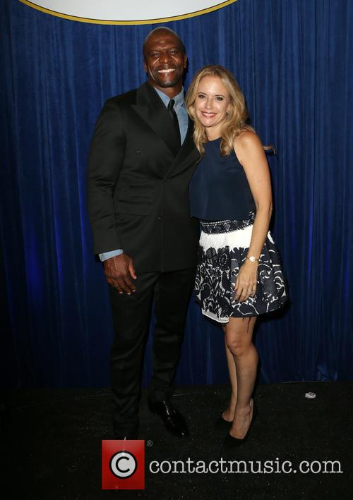 Terry Crews and Kelly Preston 2