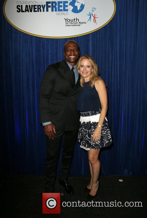 Terry Crews and Kelly Preston 3