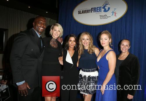 Terry Crews, Tim Ballard, Mary Shuttleworth, Marisol Nichols, Kelly Preston, Erika Christensen and Jenna Elfman 1