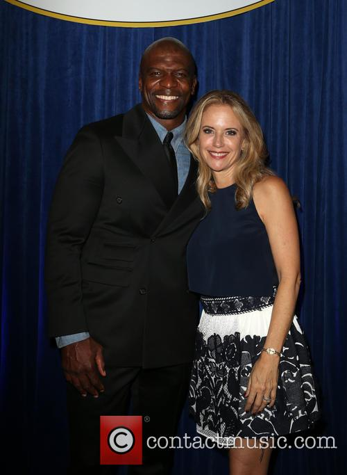 Terry Crews and Kelly Preston 4