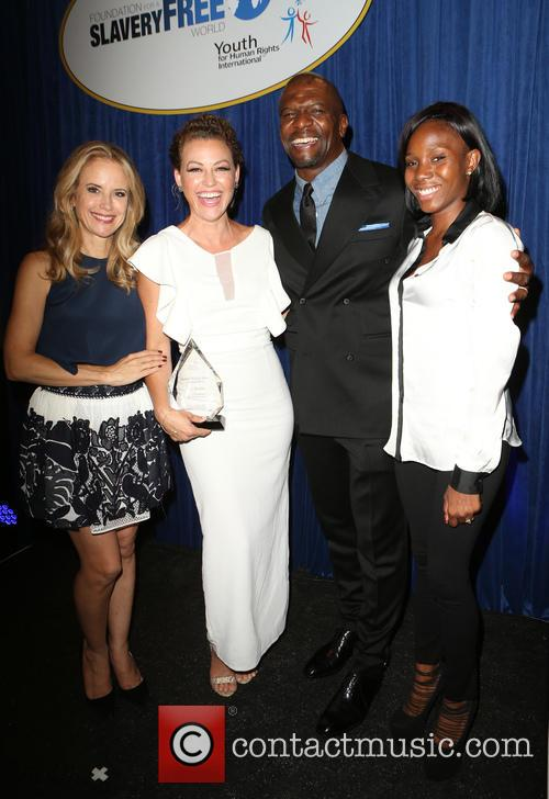 Kelly Preston, Kim Biddle, Terry Crews and Guest 2