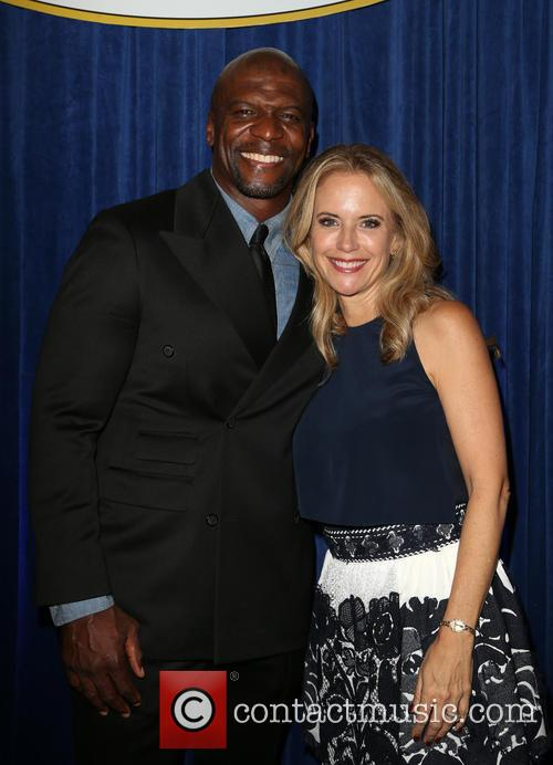Terry Crews and Kelly Preston 1