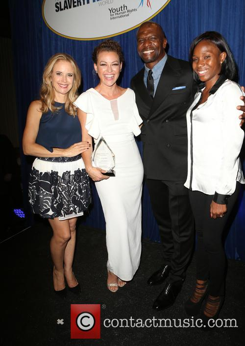 Kelly Preston, Kim Biddle, Terry Crews and Guest 3
