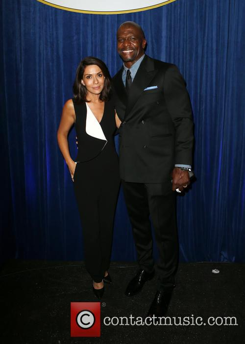 Marisol Nichols and Terry Crews 2