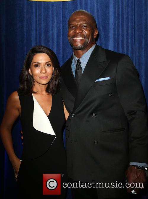 Marisol Nichols and Terry Crews 1