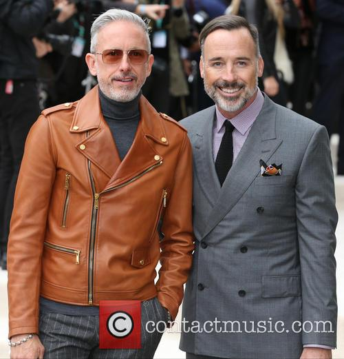 Patrick Cox and David Furnish 2