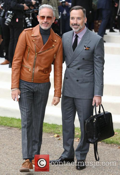 Patrick Cox and David Furnish 1