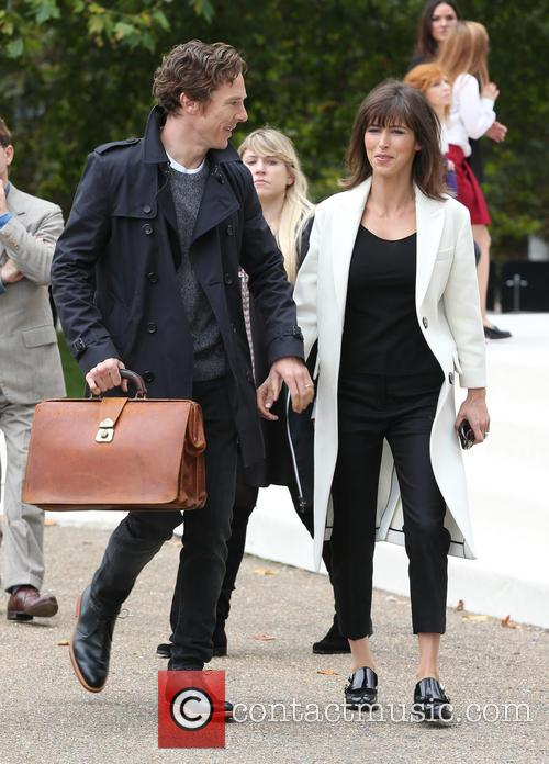 Benedict Cumberbatch and Sophie Hunter 6