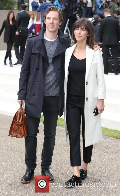 Benedict Cumberbatch and Sophie Hunter 9