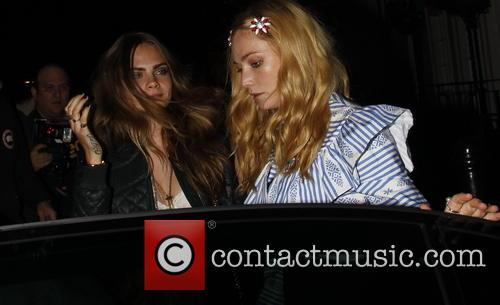 Cara Delevingne and Clara Paget 3