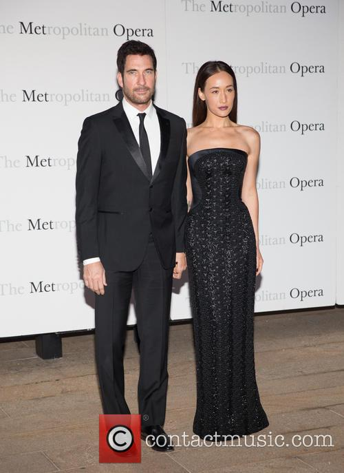 Dylan Mcdermott and Maggie Q 2