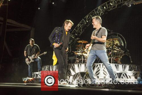 Van Halen and Kenny Wayne Shepherd perform live...