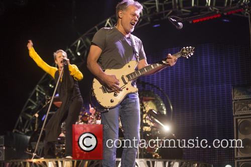 David Lee Roth and Eddie Van Halen 4
