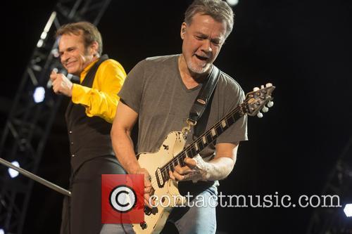 David Lee Roth and Eddie Van Halen 5