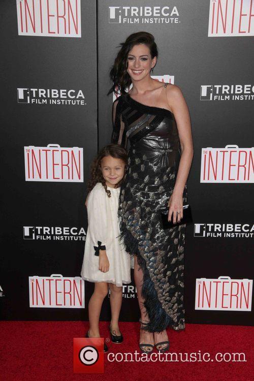 Jojo Kushner and Anne Hathaway 1