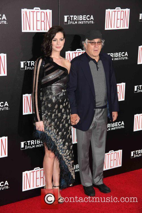 Anne Hathaway and Robert De Niro 2