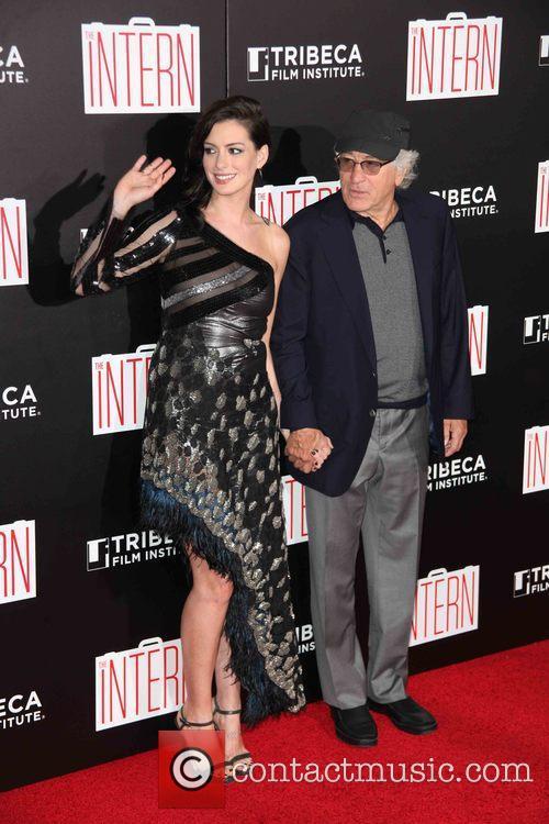 Anne Hathaway and Robert De Niro 3