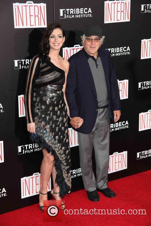 Anne Hathaway and Robert De Niro 4