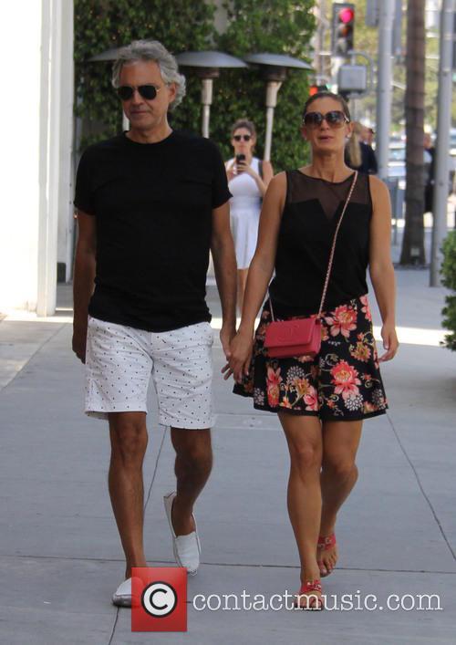 Andrea Bocelli and Veronica Berti 6