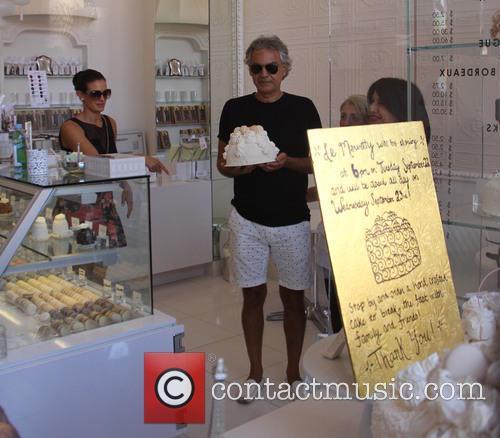 Andrea Bocelli and Veronica Berti 9