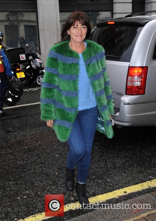 Davina McCall at BBC Radio 2