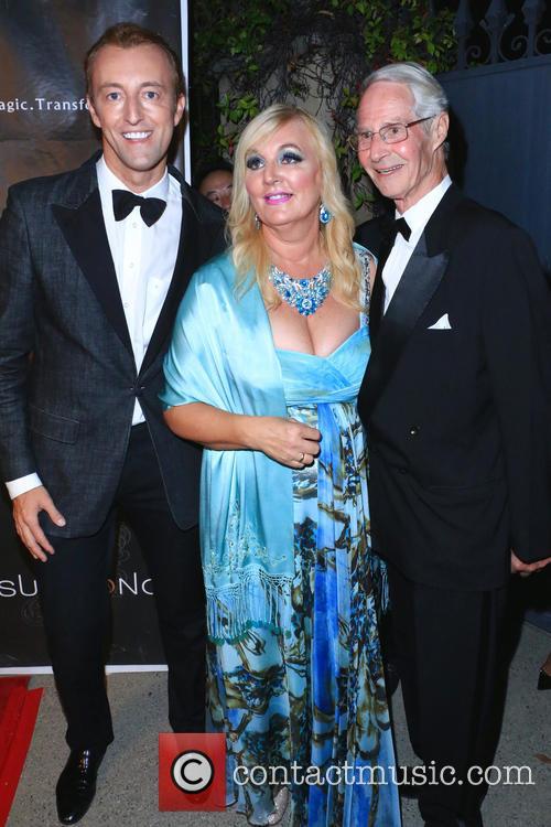 Prince Mario-max Schaumburg-lippe, H.h. Dr. Princess Antonia Schaumburg-lippe and Prince Waldemar 1