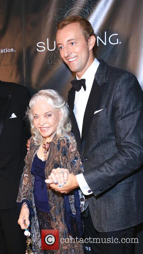 Lois Aldrin and Prince Mario-max Schaumburg-lippe