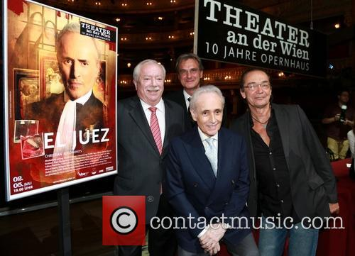 Michel Häupl, Jose Carreras, Roland Geyer and Christian Kolonovits 1