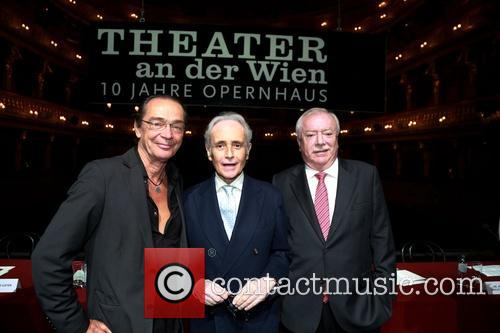 Christian Kolonovits, Jose Carreras and Michael Häupl 1