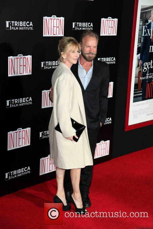 Trudie Styler, Sting and Gordon Sumner 2