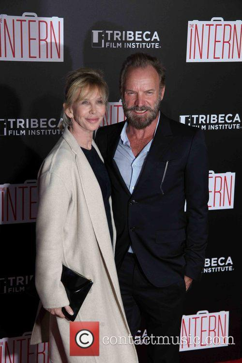 Trudie Styler, Sting and Gordon Sumner 3